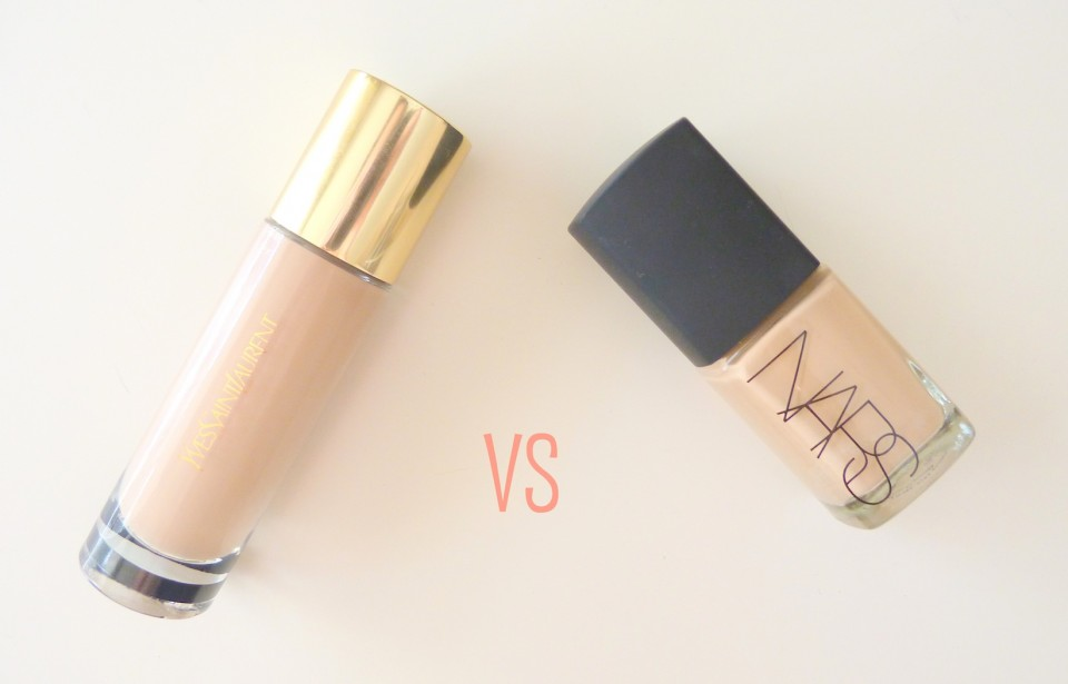 battle nars sheer glow vs teint touche eclat ysl le blog de n roli. Black Bedroom Furniture Sets. Home Design Ideas