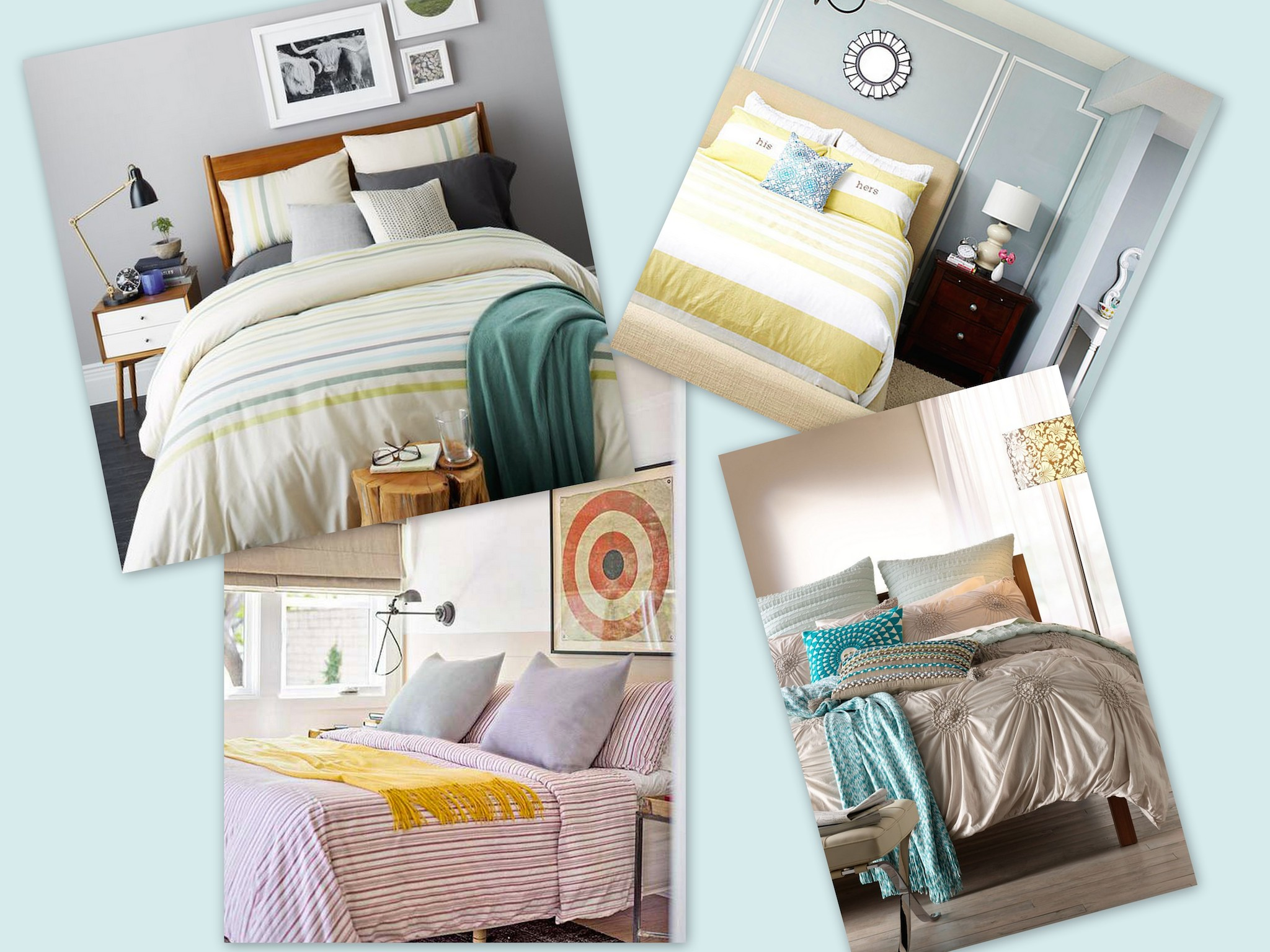 Inspiration d co literie color e le blog de n rolile for Le mag deco literie